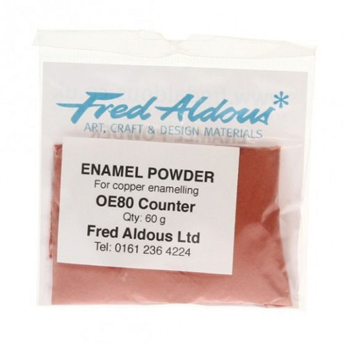 OE80 Counter Enamel 60g. Lead free.