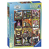 Ravensburger Colin Thompson - Higgledy-Piggledy House, 1000 Piece Puzzle