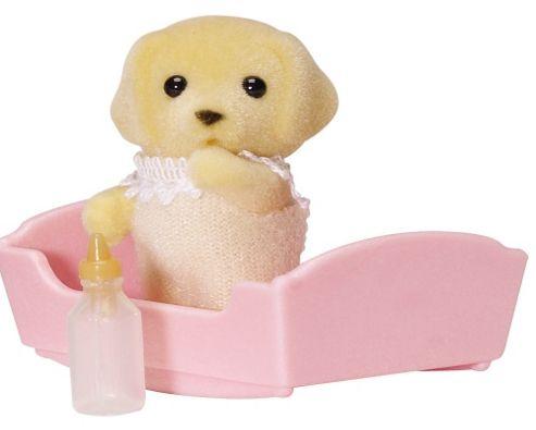 Sylvanian Families - Golden Labrador Baby