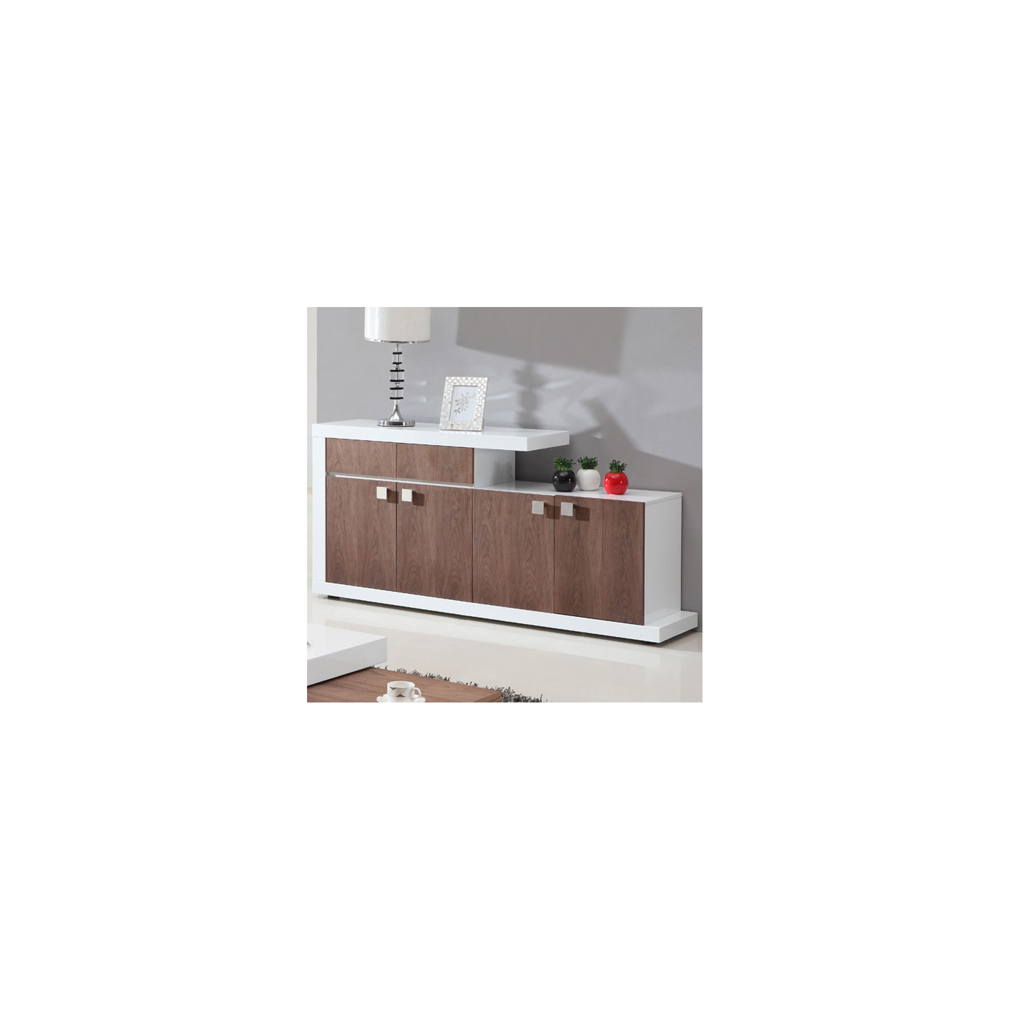 Giomani Designs Walnut Gloss Sideboard at Tescos Direct