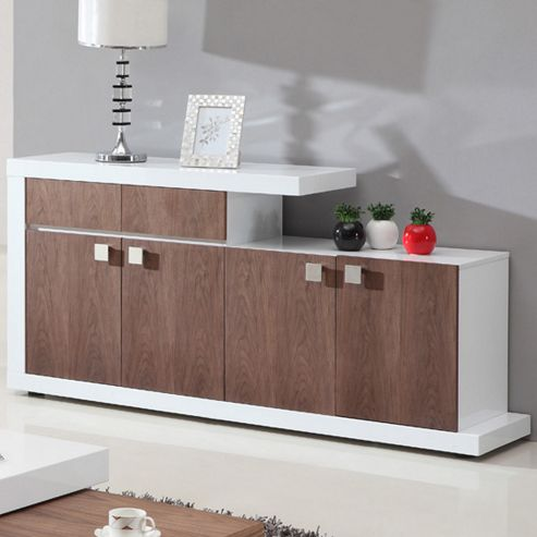Giomani Designs Walnut Gloss Sideboard