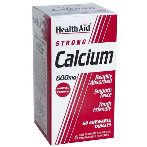 Calcium 600mg - Chewable