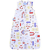 Grobag Sandcastle Bay 0.5 Tog Sleeping Bag (0-6 Months)