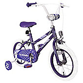 "Terrain  Girls 14"" Bike  Purple"