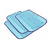iRobot 4409706 Microfiber Mopping Cloths for Braava- 3 Pack