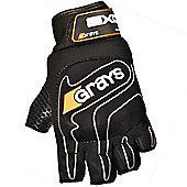 Grays Exo Hockey Gloves - Black & Silver