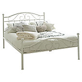 "Sareer Furniture Devon Bed Frame - Double (4' 6"")"