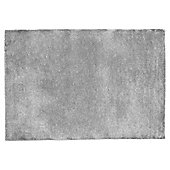 Tesco Plain Wool Rug 100 x 150cm, Slate