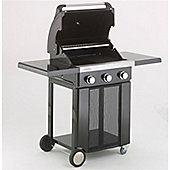 Lifestyle Ebony Classic 3 burner Gas Barbeque