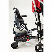 Buggypod Perle Clip On Board & Booster Seat (Zebra)
