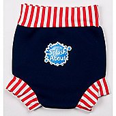 Splash About Happy Nappy Medium (Navy White Red)