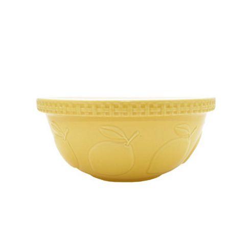 Mason Cash Lemon Mixing Bowl Yellow 29cm