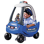 Little Tikes Cozy Coupe Ride-on Police Patrol Car, Blue
