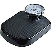 Harbour Housewares Traditional Black Bathroom Scales - 25st (160kg)