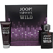 Joop! Homme Wild Gift Set 75ml EDT Spray + 75ml Shower Gel For Men