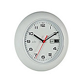 Acctim 93/702 Day/Date Wall Clock White