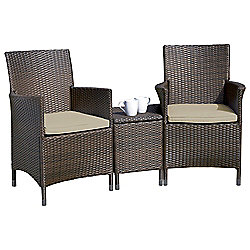 Royalcraft Rattan Companion Seat, Brown