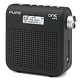 ONE-MINIII Mini Series II DABFM Radio with 16 Presets in Black