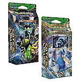 Pokemon XY Fates Collide Theme Decks - Lugia & Zygarde (Both decks supplied)