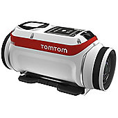 TomTom Bandit Action Cam FHD 4K 16MP WiFi Premium Pack inc 9x Accs