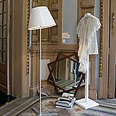 Marset Nolita Floor Lamp - Aluminium - Black - E27 FBT DIM 20W