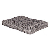 "Midwest Quiet Time Deluxe Ombre Pet Mattress - Grey - 55.88 cm (22"")"