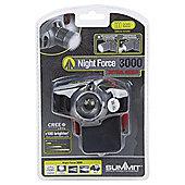 Summit Night Force 3000 CREE LED Headlight Torch