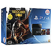 PS4 500GB Console with InFamous, 90 Day PS+, and Amazing Spiderman BD