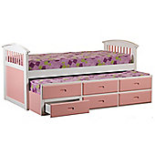 Ruby Captains Bed - Pink