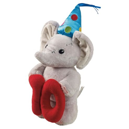 10th Birthday Elephant Soft Toy