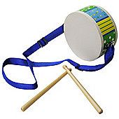 Bigjigs Toys BJ189 Drum (Designs Vary)