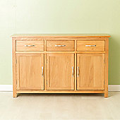Carne Oak Large Sideboard - Light Oak