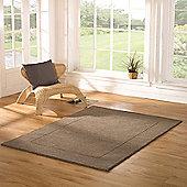 Tuscany Siena Taupe 80x150 Wool Rug