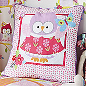 Olive the Owl Square Cushion