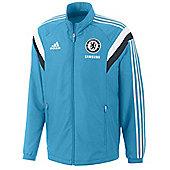 2014-15 Chelsea Adidas Presentation Jacket (Blue) - Blue