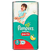 Pampers Baby Dry Pants Size 5 Large 44