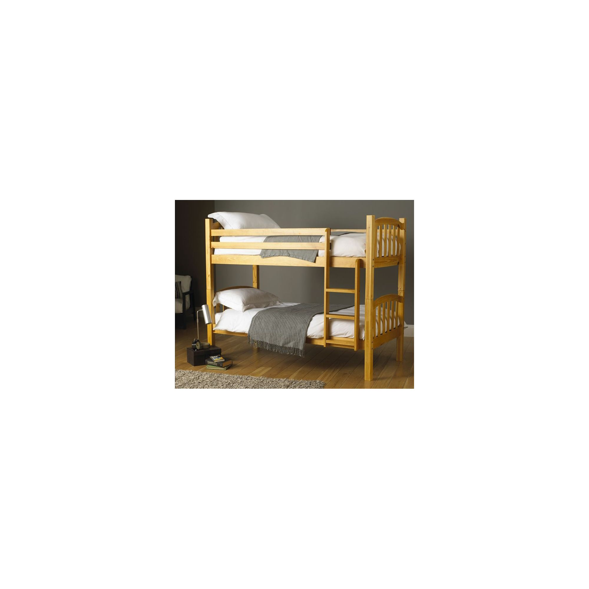 Hyder Montreal Pine Bunk Bed Frame - 2 Single Included at Tesco Direct