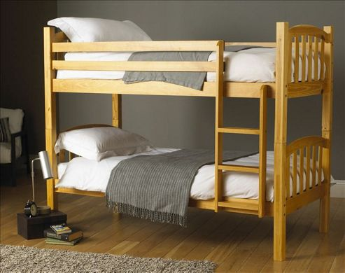 Hyder Montreal Pine Bunk Bed - 2 Single Included