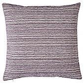 Stripe Chenille Cushion, Purple