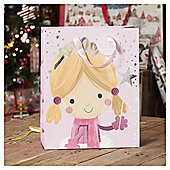 Fairy Christmas Gift Bag, Large