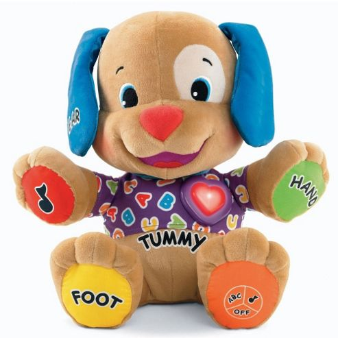Fisher Price Laugh and Learn Love To Play Learning Puppy