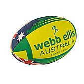 Webb Ellis Australia Flag Rugby Ball Size 5