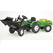 Farm Power Max Loader Tractor with Trailer