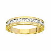 9ct Gold 1 Carat Eternity Diamond Ring