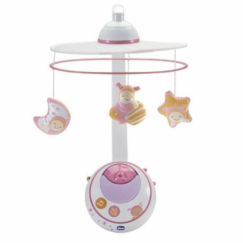 Chicco Magic Stars Cot Mobile - Pink