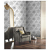 Arthouse Timeless Black/White Wallpaper