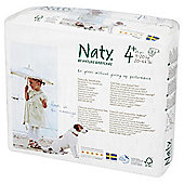 Naty By Nature Babycare Nappies - Size 4+ - 25 Pack