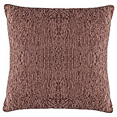Tesco Chenille Cushion, Mocha