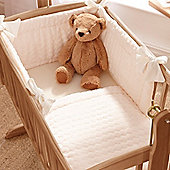 Clair de Lune 2pc Crib Bedding Set (Marshmallow Cream)