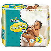 Pampers New Baby Size 3 (Midi) Carry Pack 29